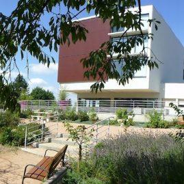 Jardin de l'hôpital de Bourg Achard