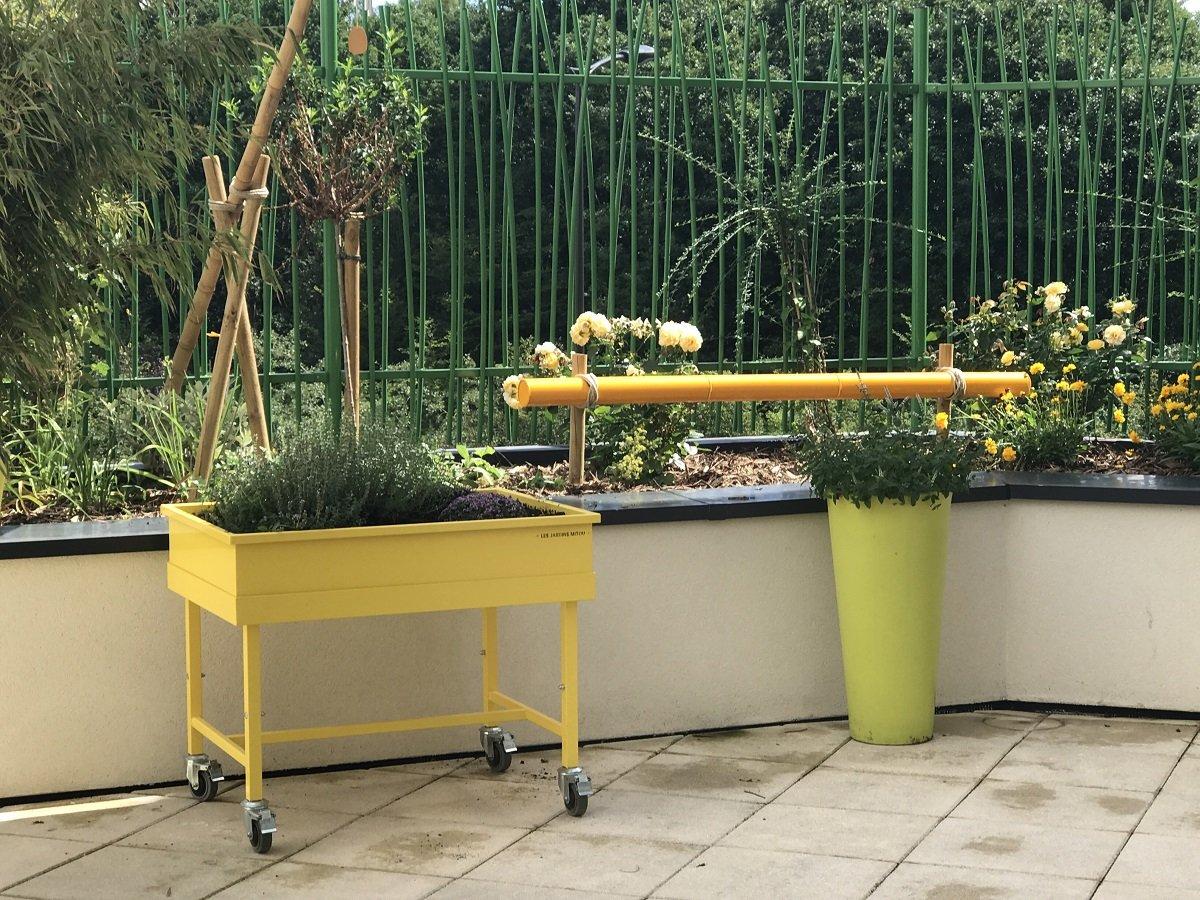 Le jardin thérapeutique - jardin des sens - hortithérapie