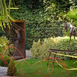 Aménagement d'espace de jardin en Normandie