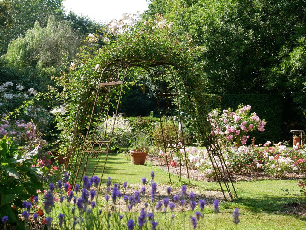 Tunnel Fleuri Création de jardin