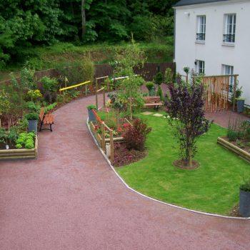 Jardin thérapeutique en Normandie de Marc Mitou Paysagiste
