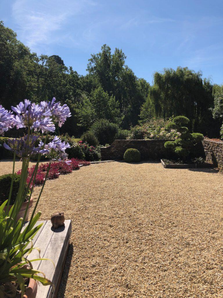 Aménagement paysager d'un jardin dans le Calvados